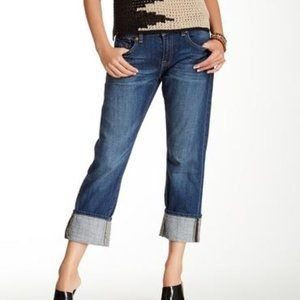 Lucky Brand Sienna Tomboy Cropped Jean Size 14